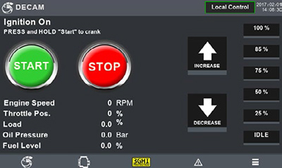 DECAM™ Diesel Engine Control and Monitoring system