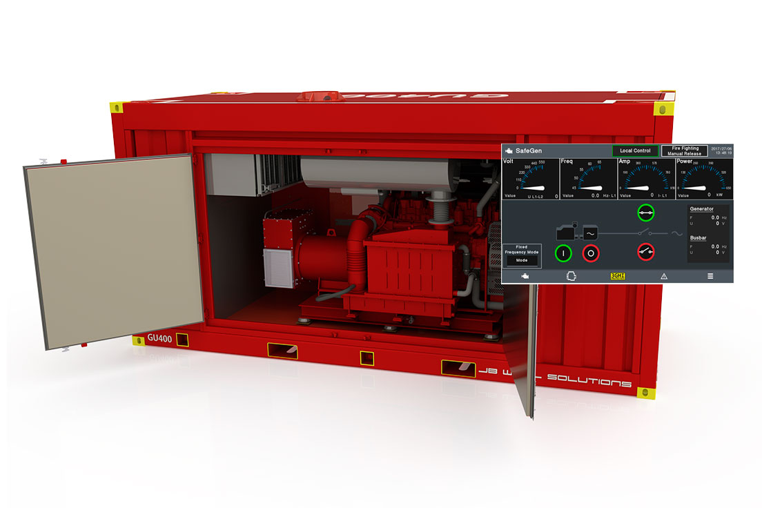 JBWS GU 400 Generator Unit for Hazardous area